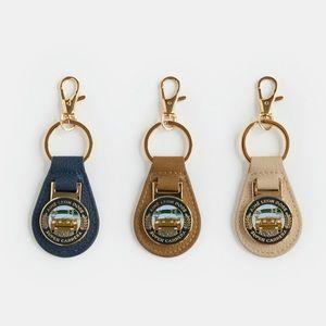 ALD / Porsche 911SC Leather Key Fob (Brown)